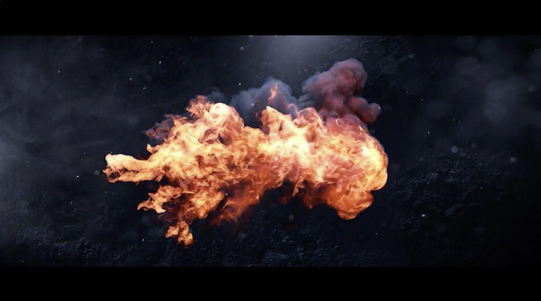 火焰LOGO展示