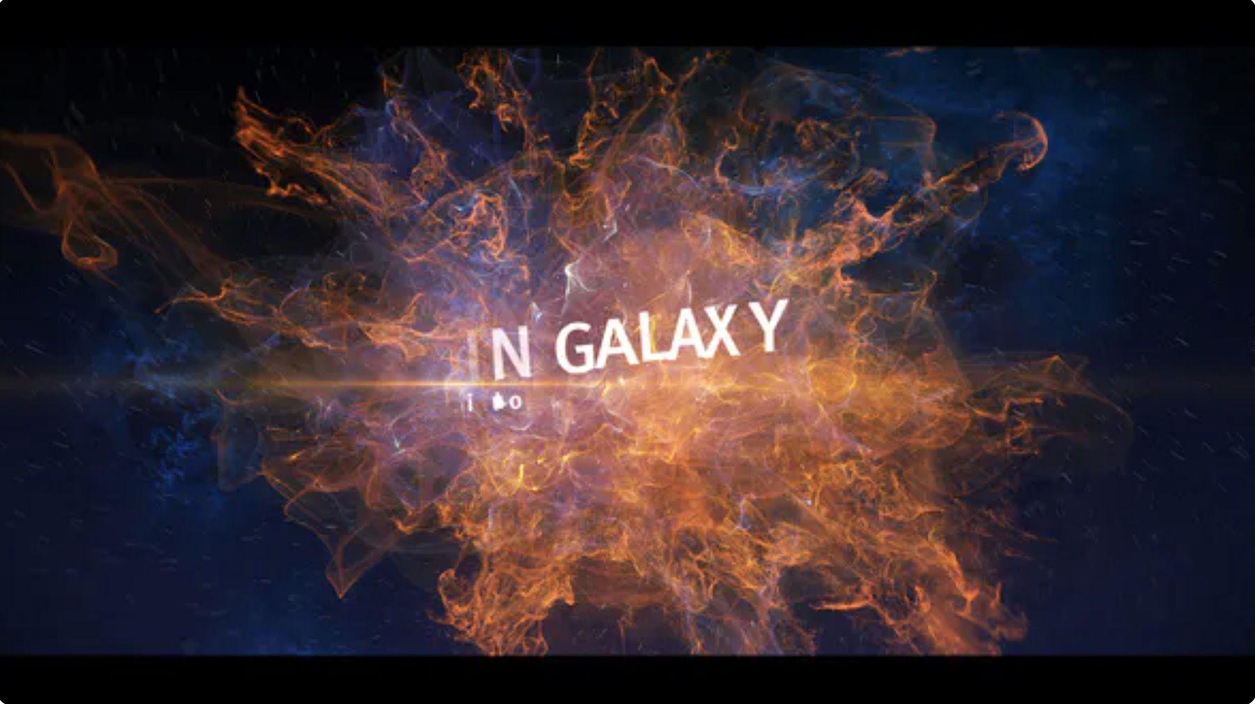 燃爆银河开场片头