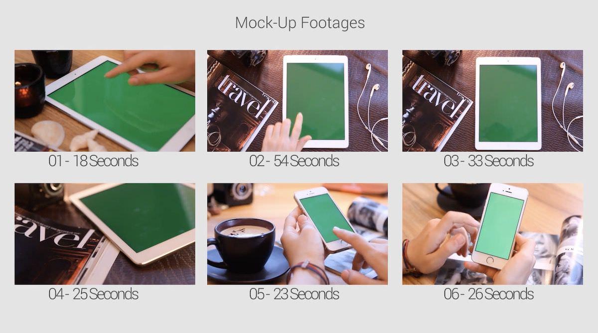 绿屏电脑端及移动端模型套件