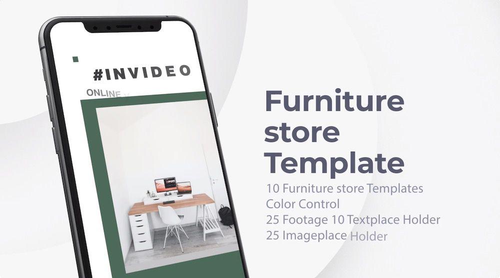 家具店 移动端 模板